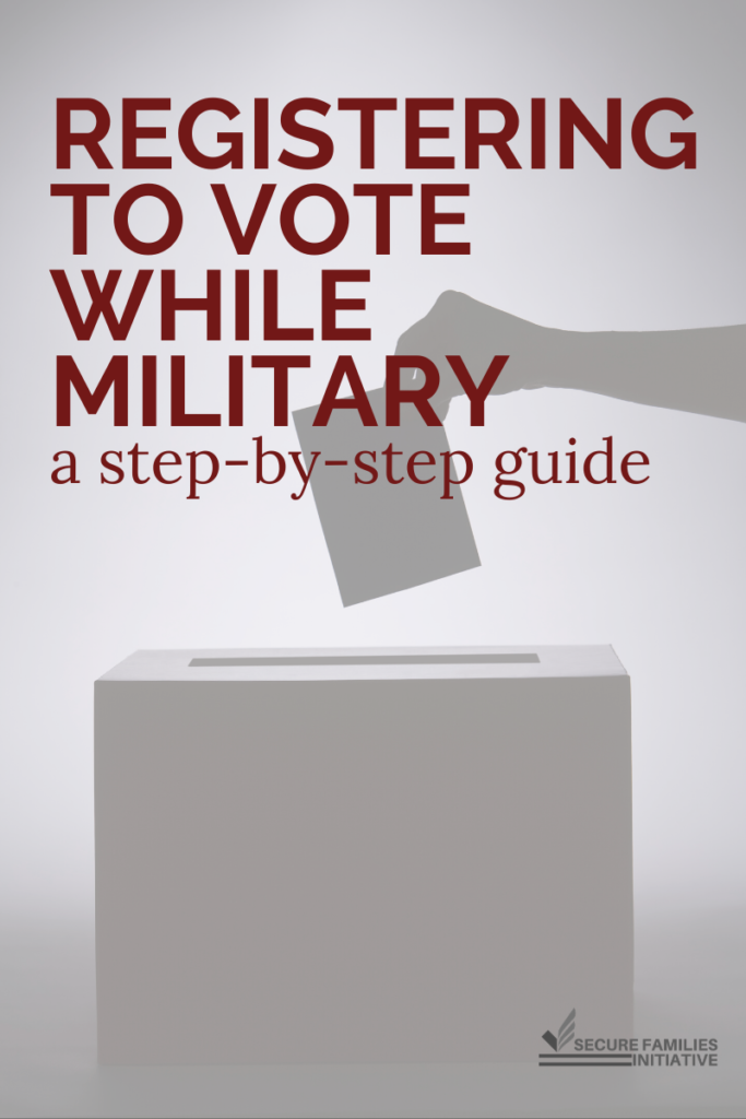 Registering to Vote While Military