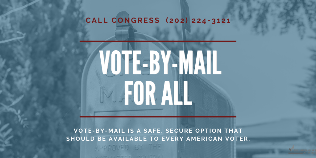 Secure Families Initiative Vote by Mail
