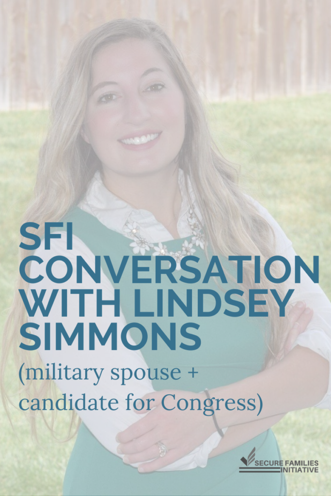 SFI Conversation with Lindsey Simmons