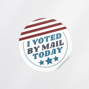 I Voted by Mail Today Sticker