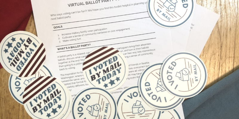 Host a Ballot Party